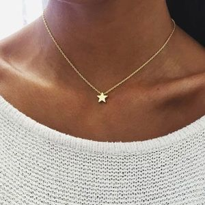 ARRIVED! Dainty Golden Star Chain Necklace